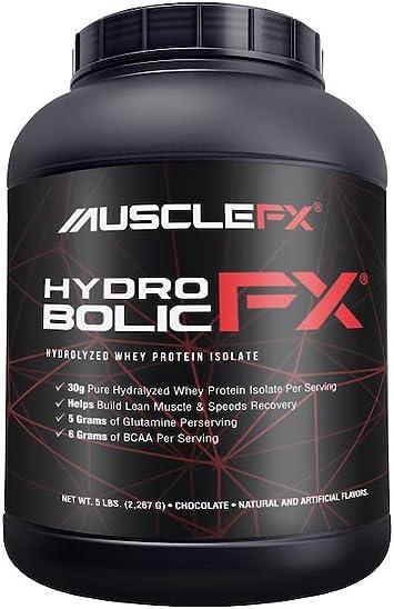 Hydro Bolic Fx Hydrolyzed Whey Protein Isolate Chocolate 5 lbs