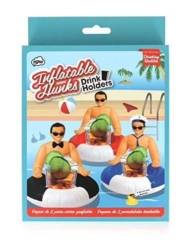 (NPW Inflatable Drink Holders, Set of 3,)