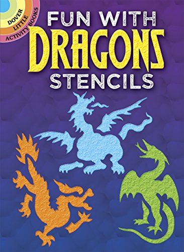 Fun with Dragons Stencils (Dover (Accent Tee)