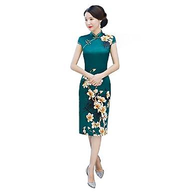 Green Chinese Dress