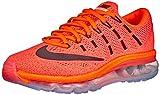 Nike Women's Nike Air Max 2016 Hyper Orange, Sunset Glow and Black Running Shoes - 5 UK/India (38 EU)(5.5 US)