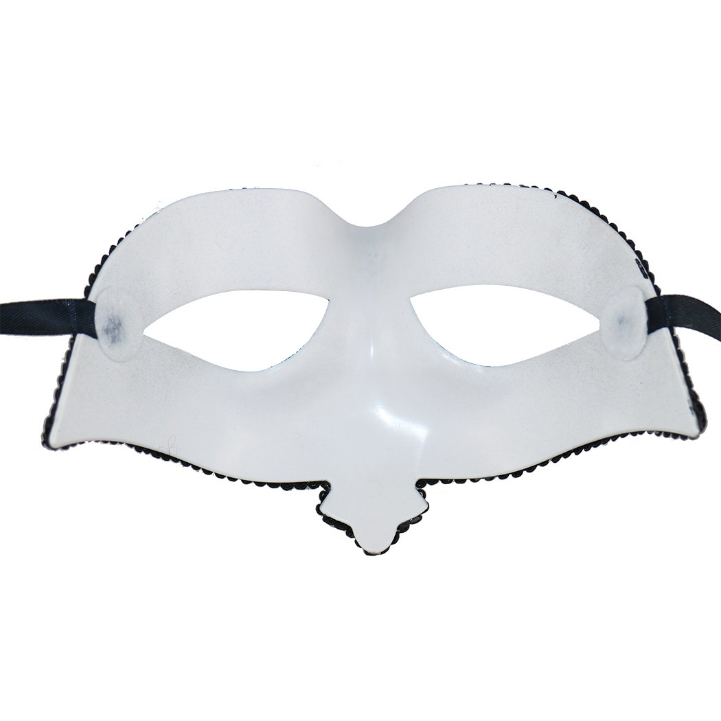Or Rose + Noir Masque de Carnaval Halloween Mardi Gras 2 Pack Thmyo Masque de Mascarade v/énitienne de Couple