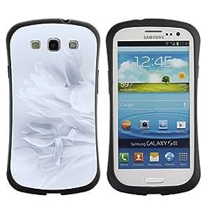 Suave TPU GEL Carcasa Funda Silicona Blando Estuche Caso de protección (para) Samsung Galaxy S3 I9300 / CECELL Phone case / / Petals Snowdrop Petal Shadow Subtle /