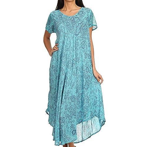 Long Turquoise Dress: Amazon.com