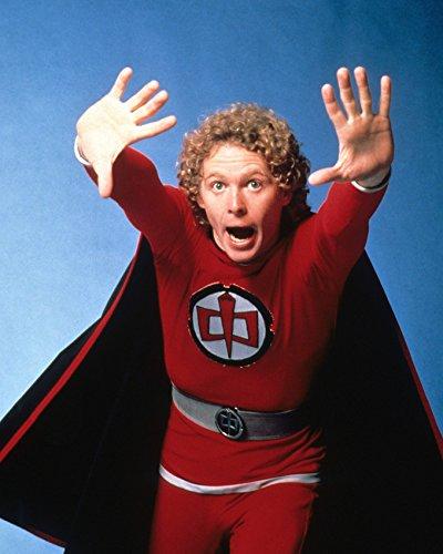 The Greatest American Hero William Katt In Superhero Costume 16x20 Canvas (Greatest Costumes)