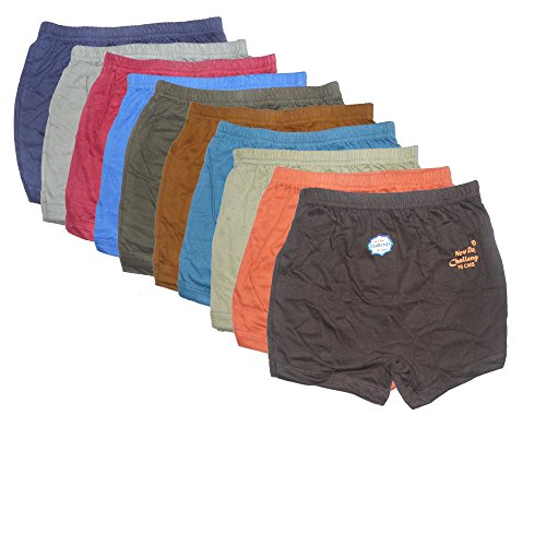 New Day Baby Boys' Cotton Brief Pack Of 10 12 - 18 Months Multi-Coloured from New Day