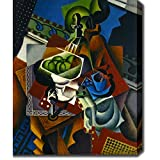 Artist: Jean MetzingerTitle: Still Life, Playing Cards, Coffee Cup and ApplesProduct type: Gallery-wrapped canvas artStyle: ContemporaryFormat: VerticalSize: Extra LargeSubject: ContemporaryMedium: PaintingImage dimensions: 30 inches high x 24 inches...