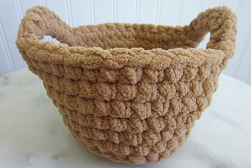 Small Round Basket with Handles - Many Color Choices from maybe4you