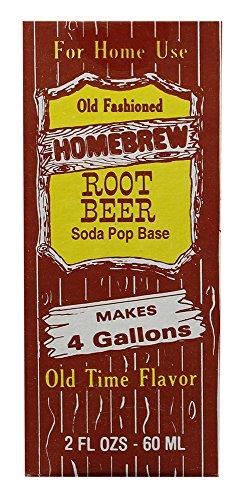 Soda Flavor Extract, 2oz (Root Beer) (Rainbow Root Beer)