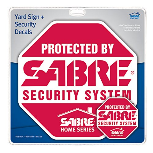 Home Security Alarm Yard Sign And Window Decal Stickers Crime - Window decals for home security