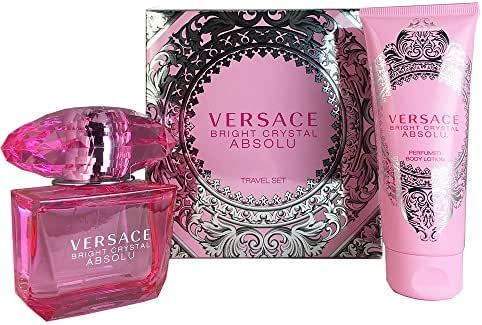 Versace 2 Piece Gift Set for Women, Bright Crystal Absolu