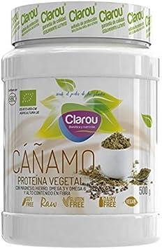 Clarou Proteína de Cáñamo 500 gr - Neutro: Amazon.es: Salud y ...