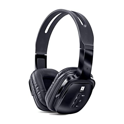 dab12f9a8900d iBall Pulse BT4 Neckband Wireless Bluetooth Headphones With Mic,(Black)