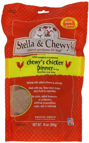 Stella-Chewys-Freeze-Dried-Dog-Food-for-Adult-Dogs-Chicken-Patties-15-Ounce-Bag-2-Pack