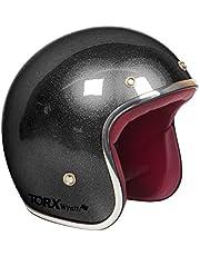 TORX Casque Moto WYATT, SHINY GLITTER BLACK, Taille S