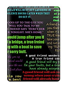 New Arrival Funny Friendship Quotes For Ipad Air Case Cover