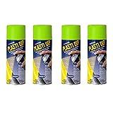 4 Pack - Plasti Dip Multi Purpose Rubber Coating Spray - Electric Lime Green 11oz