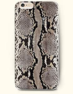 For SamSung Galaxy S4 Mini Case Cover Case with of Dim Grey And Black Serpent Pattern - Snake Skin Print -Authentic Skin