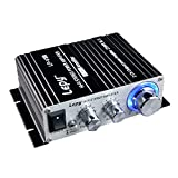 Lepy LP-V3s Hifi Stereo Power Digital Amplifier with 3.5mm Audio Input for iPhone Computer MP3 (Black)