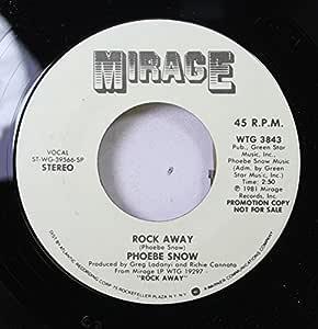 Phoebe Snow Phoebe Snow 45 Rpm Rock Away Baby Please