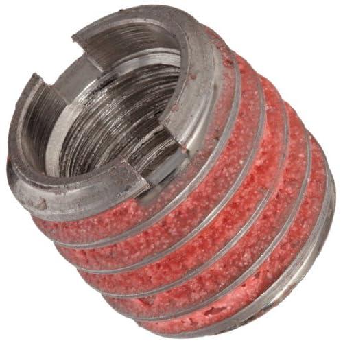 """E-Z Lok Externally Threaded Insert, 303 Stainless Steel, #10-32 Internal Threads, 3/8""""-16 External Threads, 0.406""""..."""