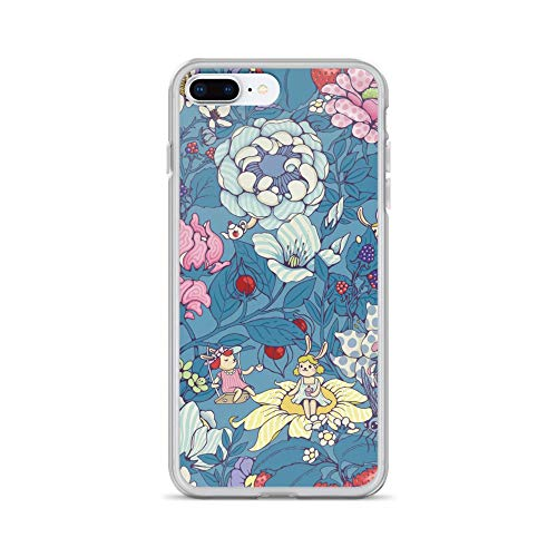 iPhone 7 Plus/8 Plus Case Anti-Scratch Creature Animal Transparent Cases Cover Garden Party Earl Gray Version Animals Fauna Crystal ()