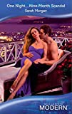 One Night...Nine-Month Scandal by Sarah Morgan front cover