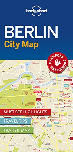 Berlin City Map (Lonely Planet City Maps)