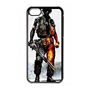 Battlefield Bad Company 2 iPhone 5c Cell Phone Case Black 53Go-050070