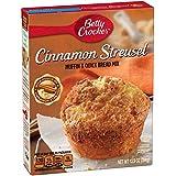 Betty Crocker Muffin & Quick Bread Mix, Cinnamon Streusel, 13.9 Ounce