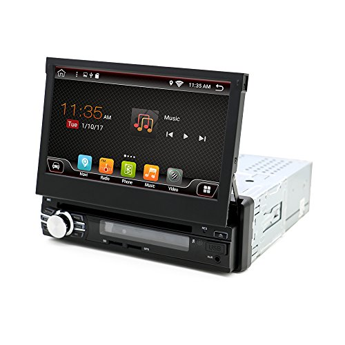 Big Sale7 inch Android 6.0 AutoRadio Stereo Single 1 din Quad Core Universal Car Media Player HD Capacitive 2GB+32GB Head Unit