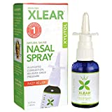 XLEAR Natural Saline Nasal Spray with Xylitol, 1.5oz