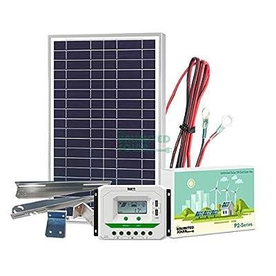 Unlimited Solar P4 Series 20 Watt 12 Volt Off-Grid Solar Panel Kit