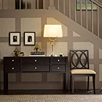 Madison Park Signature Madison Console Table Ebony See below