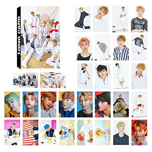 Youyouchard 30pcs/Set Kpop NCT127 NCT Dream Album We Go Up Lomo Card Self Made Autograph Photocard, 8856mm(NCT-02) from Youyouchard