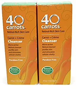 40 Carrots Cleanser, 4 oz (Pack of 2)