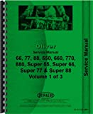 Oliver 77 Tractor Service Manual (Row Crop, Standard and Industrial)