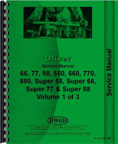 Download Oliver 770 Tractor Service Manual pdf