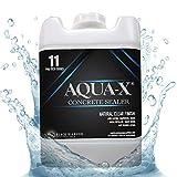 5 Gallon AQUA-X 11 Clear, Penetrating Concrete Sealer - Mold and Mildew Inhibitor