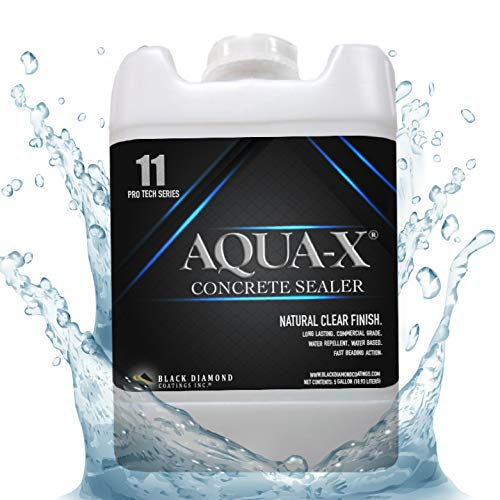 5 Gallon AQUA-X 11 Clear, Penetrating Concrete Sealer - Mold and Mildew Inhibitor