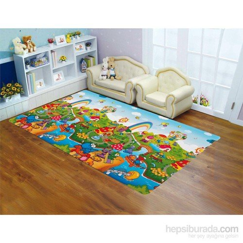Serra Baby Dino Land Game Mat Large 190x130cm - 15mm thickness by Serra Baby