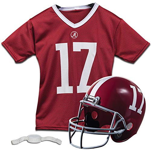 Franklin Sports NCAA Team Licensed Youth Football Helmet Jersey Set -