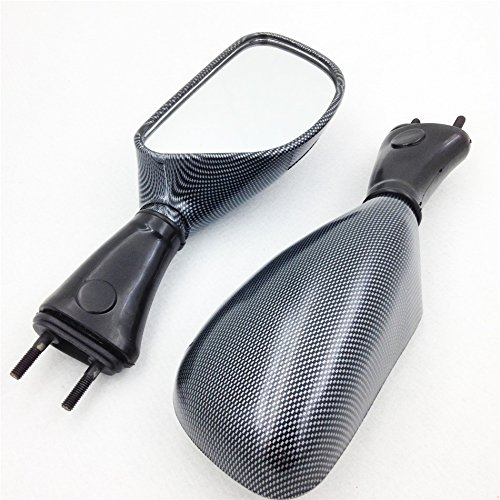 For 1998-2002 Kawasaki Ninja Zx6R 1998-2003 Zx9R 2006-2008 650R Carbon motorcycle mirrors Replacement