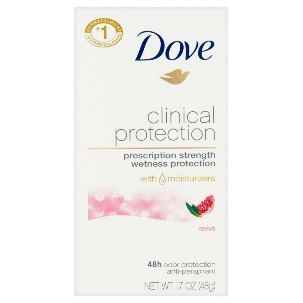 Dove Clinical Protection Anti-Perspirant Deodorant Solid, Revive 1.70 oz (Pack of 24) by Dove (Image #1)