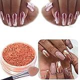 Creazy Sexy Rose Gold Nail Mirror Powder Glitter Chrome Powder Art Decoration