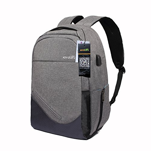 Laptop Backpack For Men Women, Joyelife Anti Theft Business Casual Daypack With Usb Charging Port Li