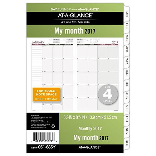 Runner Monthly Planner Refill 061 685Y