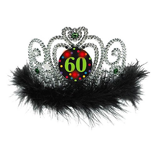 60th Birthday Flashing Tiara]()