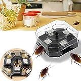 Large Reusable Automatic Cockroach Trap Efficient Bug trapper Catcher Pest Control Box safe environment friendly Trap By Martial