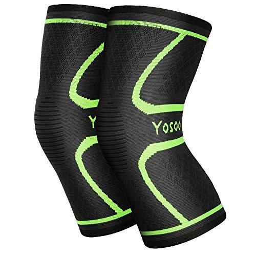 Yosoo Knee Sleeves (Pair) Support for Running, ...
